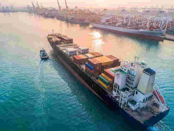 морская контейнерная доставка грузов
