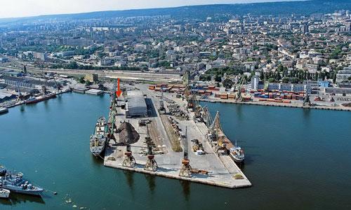 фото порта Варна в Болгарии