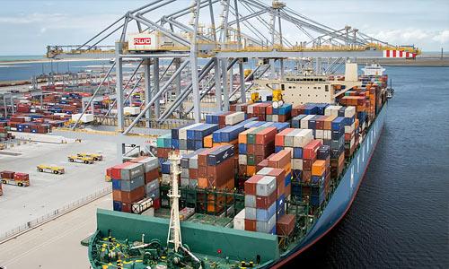 картинка по перевозке грузов из ФРГ по морю