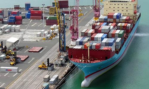 картинка по доставке контейнерных грузов морским транспортом